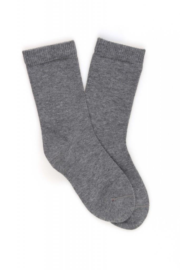 <b>2 Pack</b> Baby/Kids Plain Cotton Socks