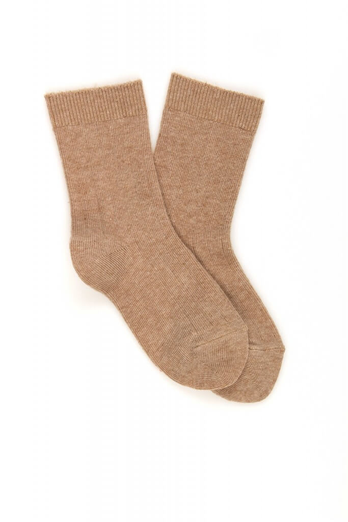 <b>2 Pack</b> Baby/Kids Rib Cotton Socks