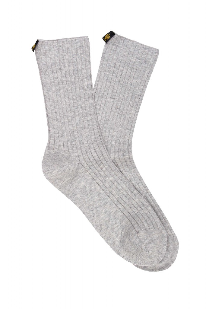 Women Rib No Pressure Cuff Cotton Socks